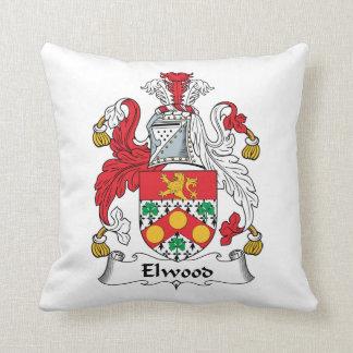 Escudo de la familia de Elwood Cojines