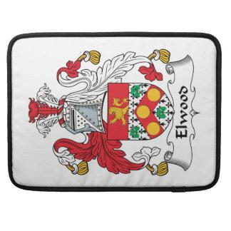 Escudo de la familia de Elwood Fundas Macbook Pro