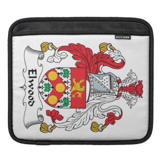 Escudo de la familia de Elwood Fundas Para iPads