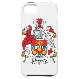 Escudo de la familia de Elwood iPhone 5 Fundas