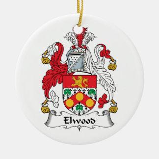Escudo de la familia de Elwood Ornato