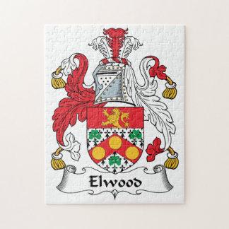 Escudo de la familia de Elwood Puzzle Con Fotos