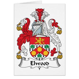 Escudo de la familia de Elwood Tarjetas