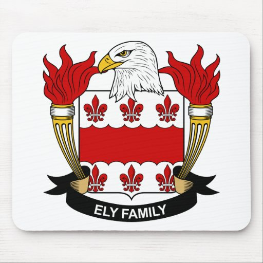 Escudo de la familia de Ely Tapete De Ratón