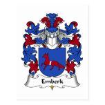 Escudo de la familia de Emberk Postales