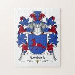 Escudo de la familia de Emberk Puzzle Con Fotos