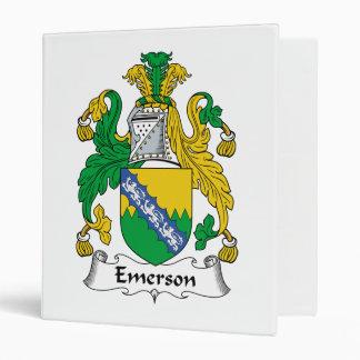Escudo de la familia de Emerson