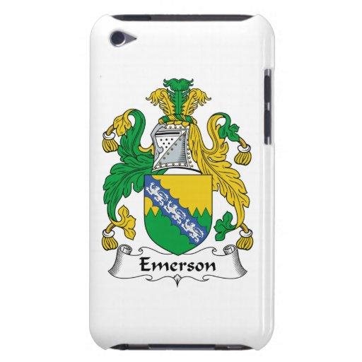 Escudo de la familia de Emerson Case-Mate iPod Touch Funda