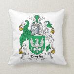 Escudo de la familia de Emslie Almohada
