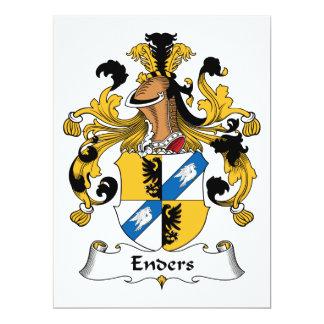 Escudo de la familia de Enders Anuncios Personalizados