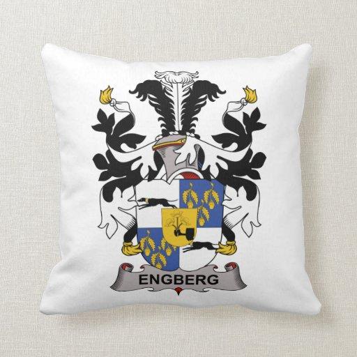 Escudo de la familia de Engberg Cojin