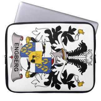 Escudo de la familia de Engberg Fundas Ordendadores