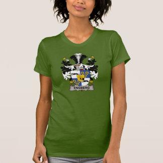 Escudo de la familia de Engberg Camisetas