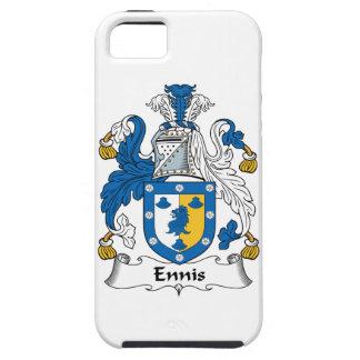 Escudo de la familia de Ennis iPhone 5 Case-Mate Cobertura