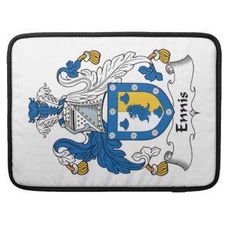 Escudo de la familia de Ennis Fundas Macbook Pro