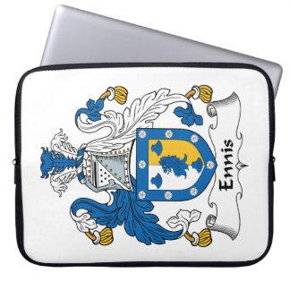 Escudo de la familia de Ennis Fundas Portátiles