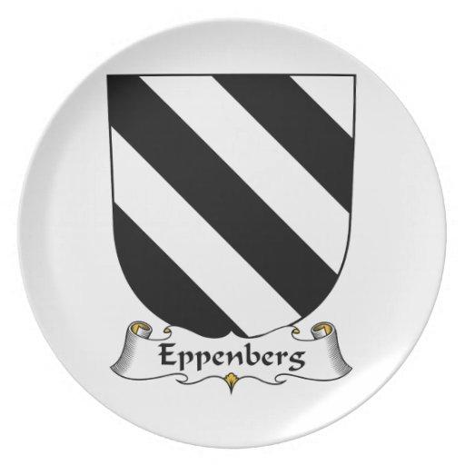 Escudo de la familia de Eppenberg Platos Para Fiestas