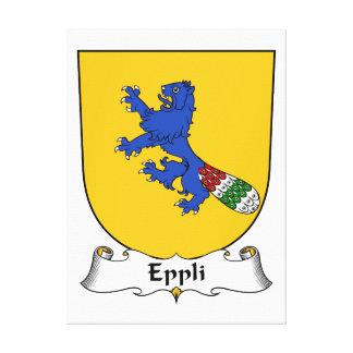 Escudo de la familia de Eppli Impresiones De Lienzo