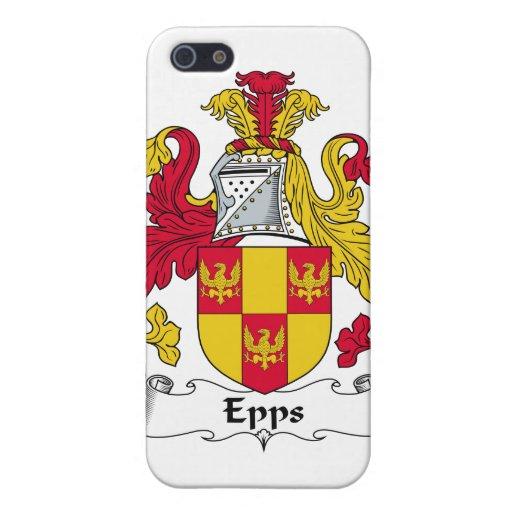 Escudo de la familia de Epps iPhone 5 Funda