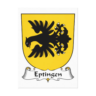 Escudo de la familia de Eptingen Impresión En Lienzo Estirada