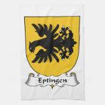 Escudo de la familia de Eptingen Toallas De Mano