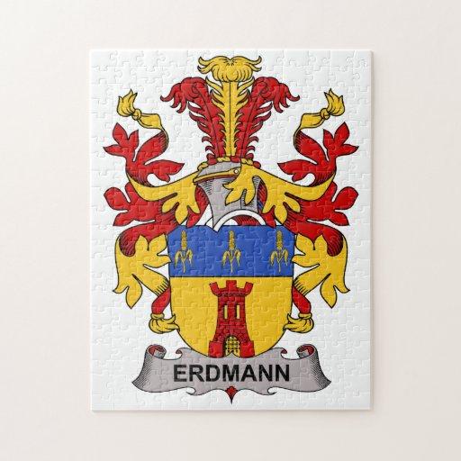 Escudo de la familia de Erdmann Puzzles