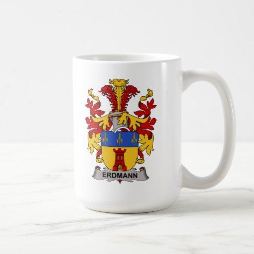 Escudo de la familia de Erdmann Taza De Café