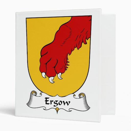 """Escudo de la familia de Ergow Carpeta 1"""""""
