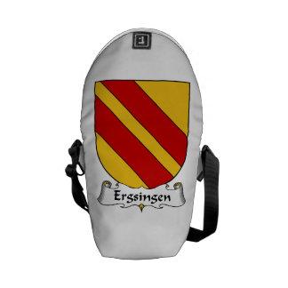 Escudo de la familia de Ergsingen Bolsas De Mensajeria