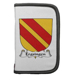 Escudo de la familia de Ergsingen Organizador