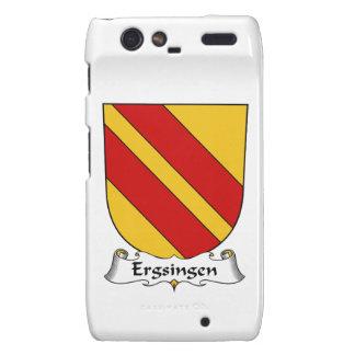 Escudo de la familia de Ergsingen Motorola Droid RAZR Carcasa
