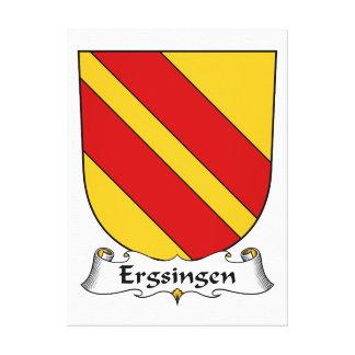Escudo de la familia de Ergsingen Impresiones De Lienzo