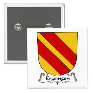 Escudo de la familia de Ergsingen Pin