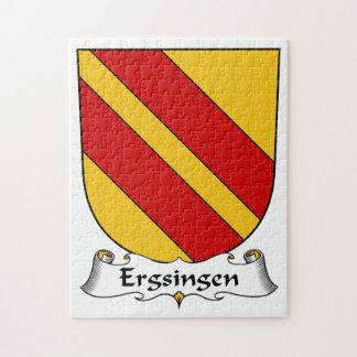 Escudo de la familia de Ergsingen Puzzle Con Fotos