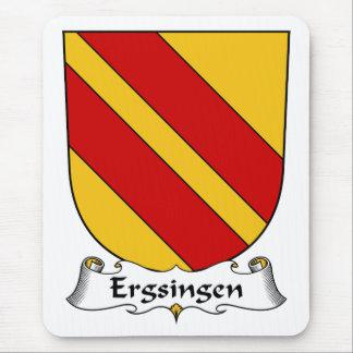 Escudo de la familia de Ergsingen Alfombrillas De Ratones
