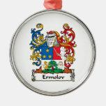 Escudo de la familia de Ermolov Adornos