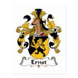 Escudo de la familia de Ernst Tarjetas Postales