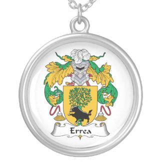 Escudo de la familia de Errea Colgantes Personalizados