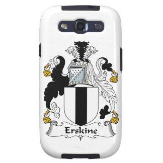 Escudo de la familia de Erskine Samsung Galaxy SIII Funda