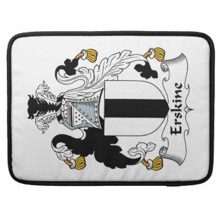 Escudo de la familia de Erskine Funda Para Macbooks