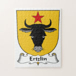 Escudo de la familia de Ertzlin Rompecabezas Con Fotos
