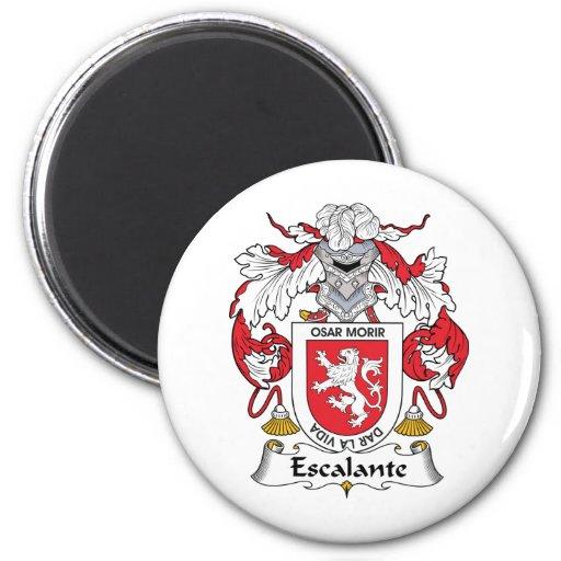 Escudo de la familia de Escalante Imán Redondo 5 Cm