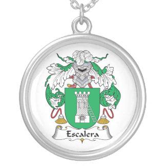 Escudo de la familia de Escalera Collar Personalizado