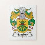 Escudo de la familia de Escobar Puzzle Con Fotos