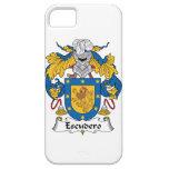 Escudo de la familia de Escudero iPhone 5 Case-Mate Carcasa