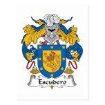 Escudo de la familia de Escudero Postal