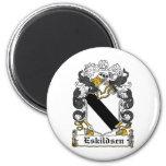 Escudo de la familia de Eskildsen Imanes Para Frigoríficos