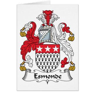 Escudo de la familia de Esmonde Felicitaciones