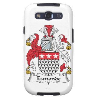 Escudo de la familia de Esmonde Samsung Galaxy S3 Fundas
