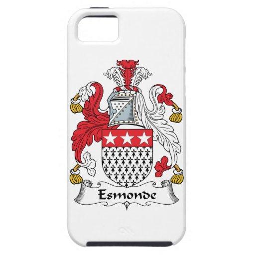 Escudo de la familia de Esmonde iPhone 5 Carcasa